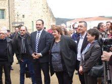Les élus de Roche la molière en présence M.le député et Mme la conseillère du canton